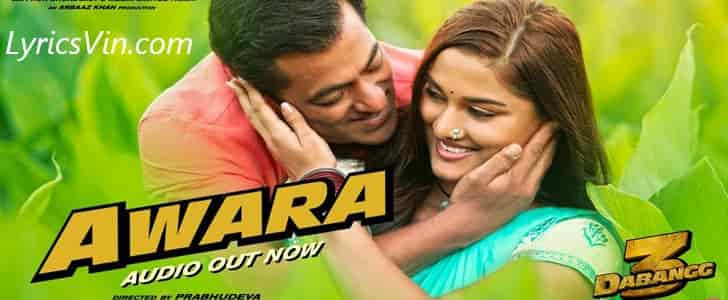 Awara Lyrics Dabangg 3