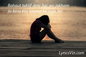 Sad Shayari Love Shayari romantic shayari lyricsvin