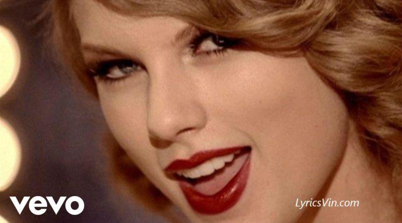 mean lyrics Taylor swift