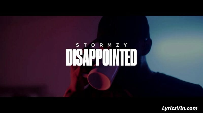 Disappointed Lyrics