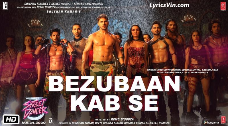 bezubaan kabse lyrics