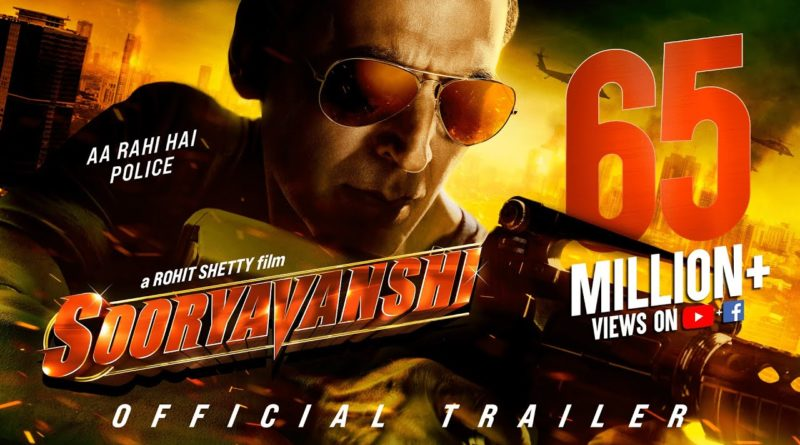 sooryavanshi official trailor
