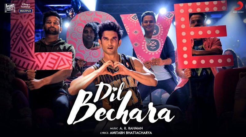 Dil Bechara Lyrics