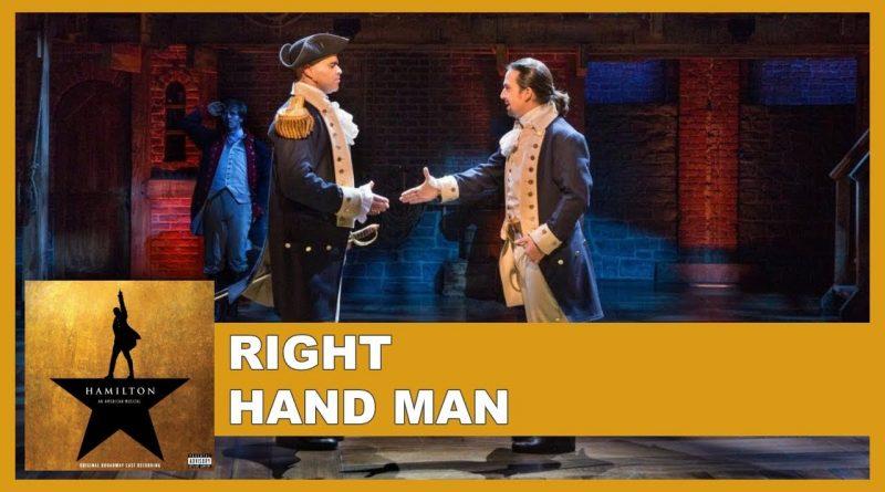 Right Hand Man Lyrics Original Broadway Cast Of Hamilton Lyricsvin