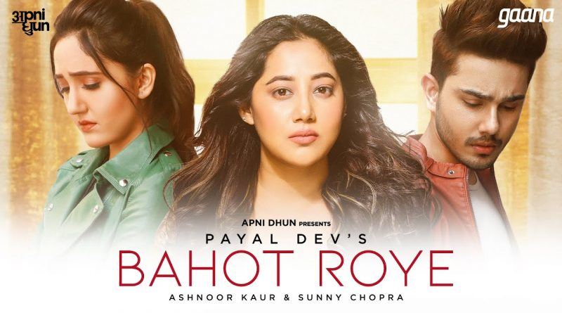 BAHOT-ROYE-LYRICS-PAYAL-DEV