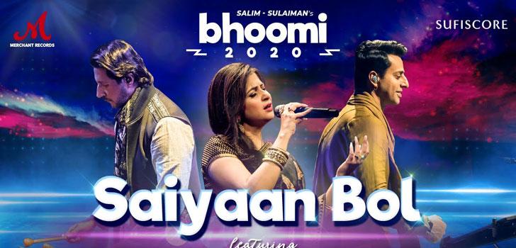 SAIYAAN-BOL-LYRICS-Kaushiki-Chakraborty---Bhoomi-2020