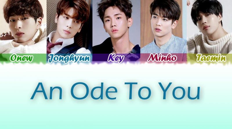 an ode to you lyrics