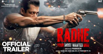 Radhe official Trailer